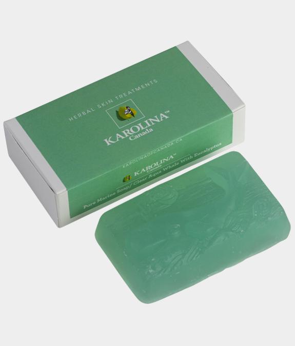 Green soap Eucalyptus with box